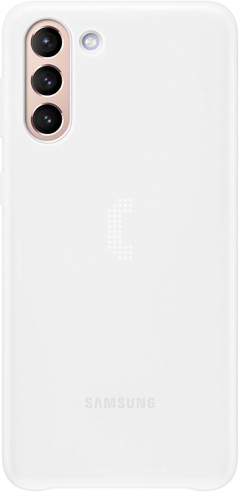 Картинка - Smart LED Cover для Galaxy S21+ белый