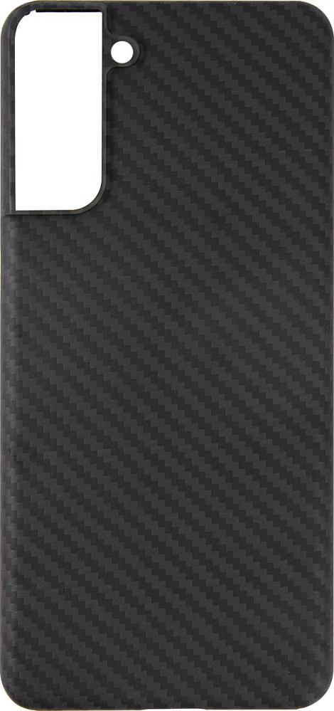 Чехол Barn&Hollis для Galaxy S21+ карбон, серый