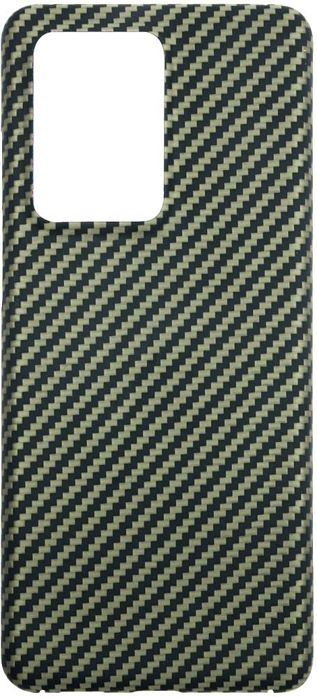 Чехол Barn&Hollis для Galaxy S20 Ultra, карбон зеленый