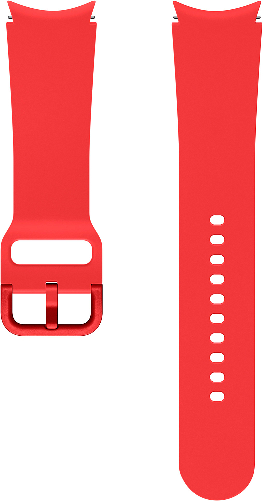 Ремешок Samsung Sport Band для Galaxy Watch4 | Watch3, 20 мм, M/L красный