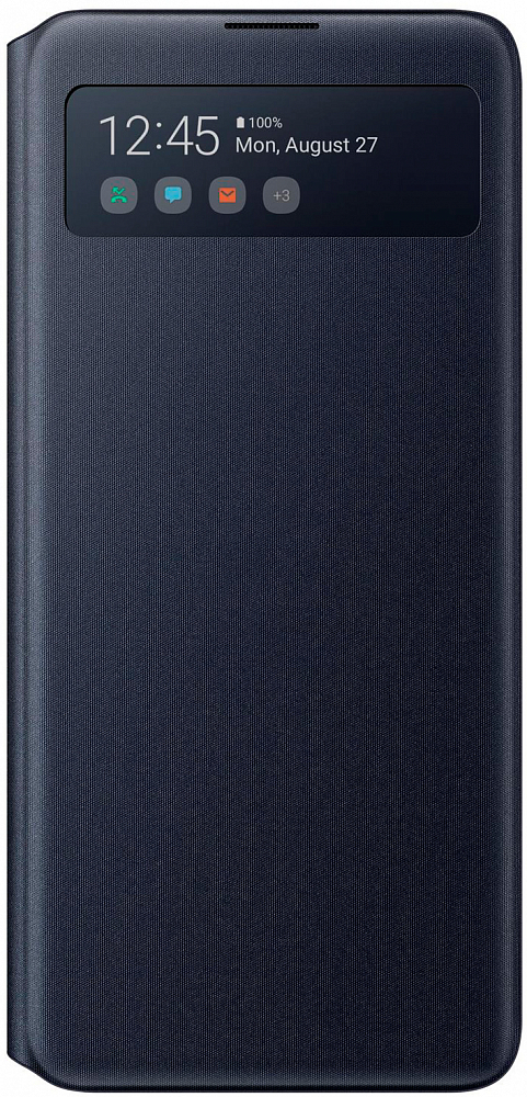 Чехол-книжка Samsung S View Wallet Cover для Galaxy Note10 lite черный