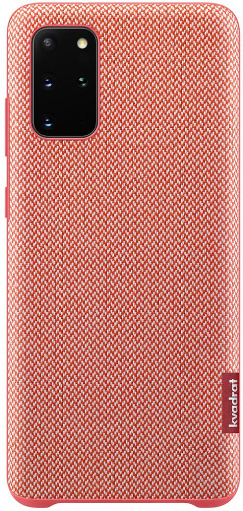 Kvadrat Cover Galaxy S20+ красный