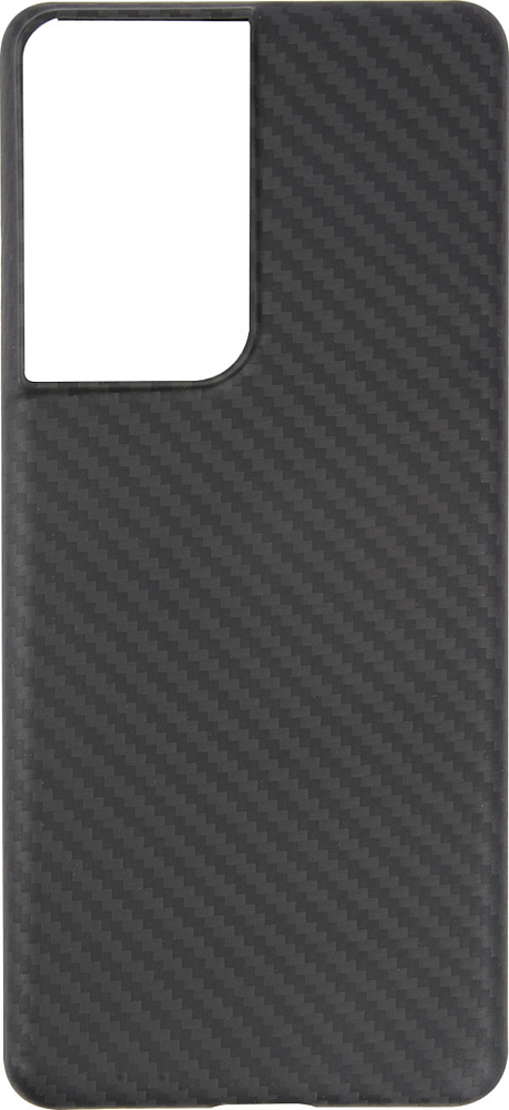 Чехол Barn&Hollis для Galaxy S21 Ultra карбон, серый