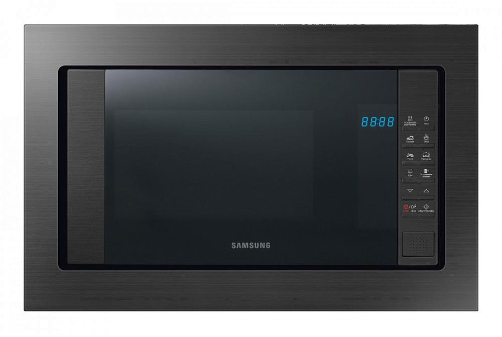 Встраиваемая микроволновая печь Samsung FW87SUG/BW 23 л серый