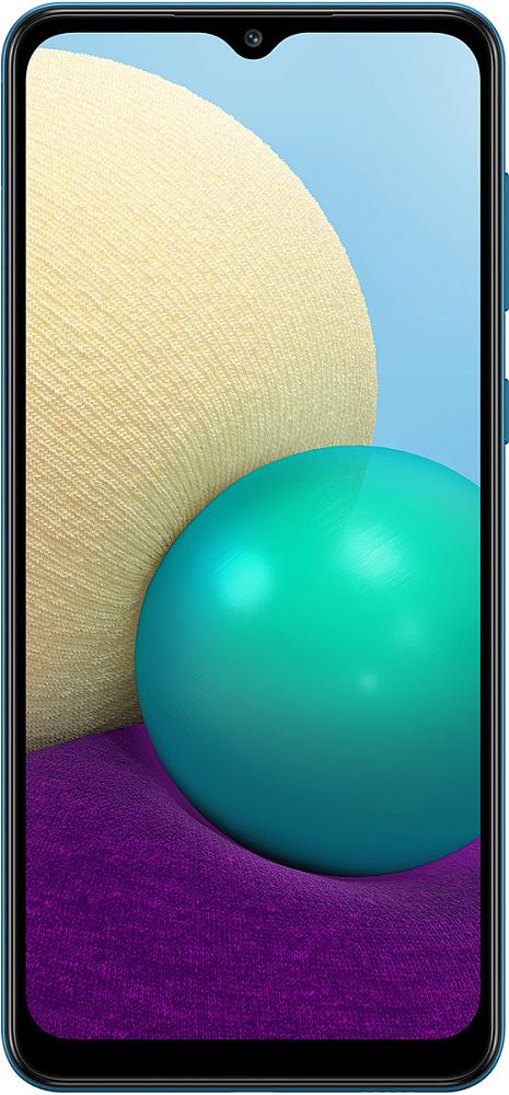 Смартфон Samsung Galaxy A02 32 ГБ синий