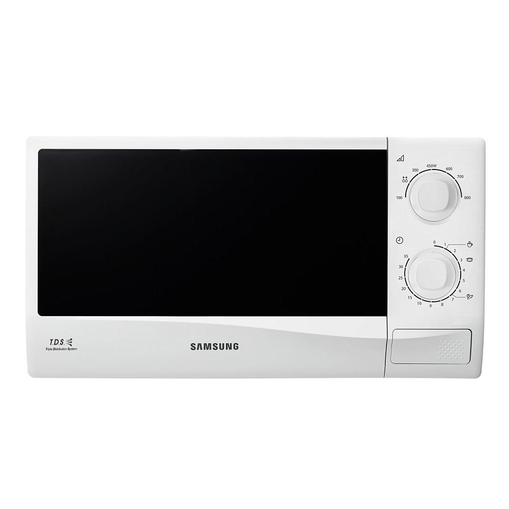 Микроволновая печь Samsung ME81KRW-2/BW 23 л белый
