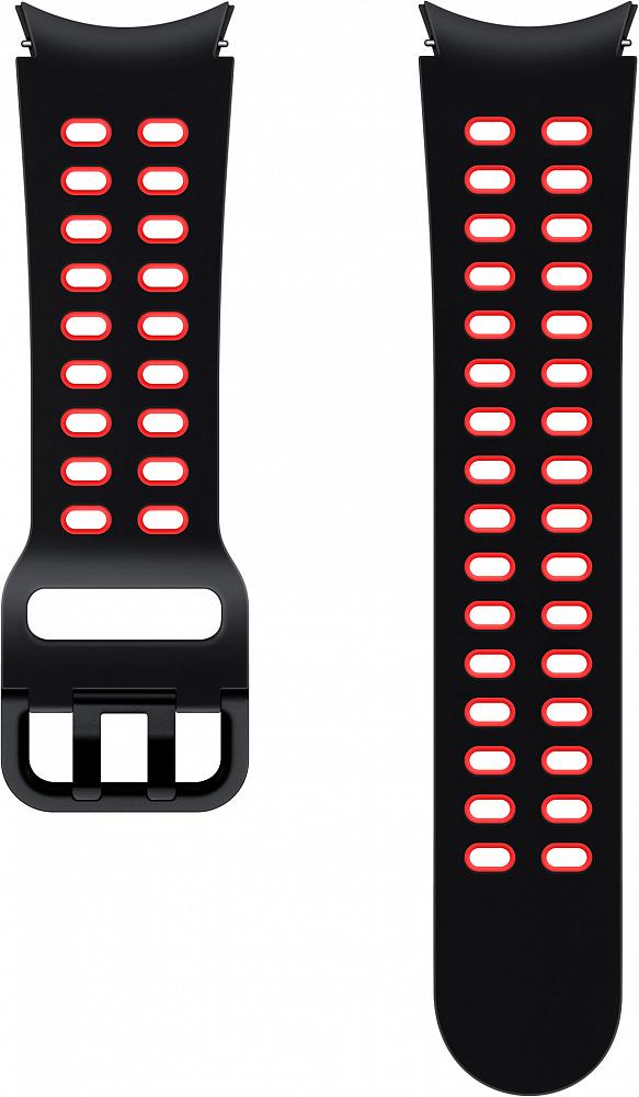 Ремешок Samsung Extreme Sport Band для Galaxy Watch4 | Watch3, 20 мм, S/M черный