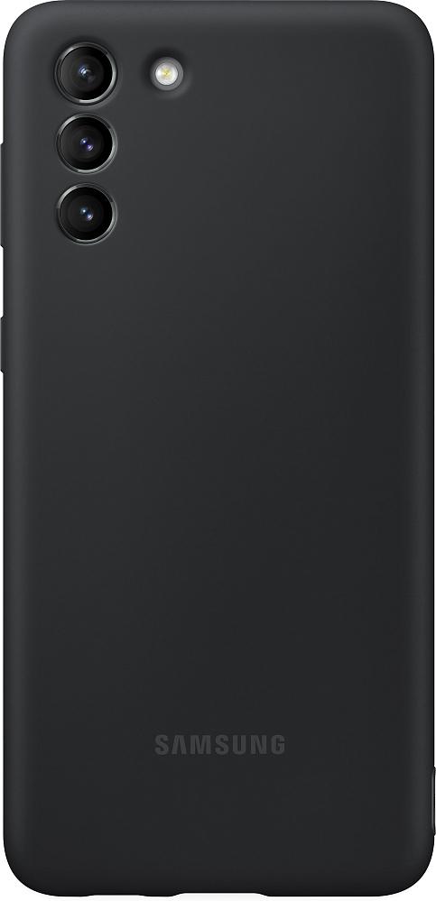 Картинка - Silicone Cover для Galaxy S21+ черный
