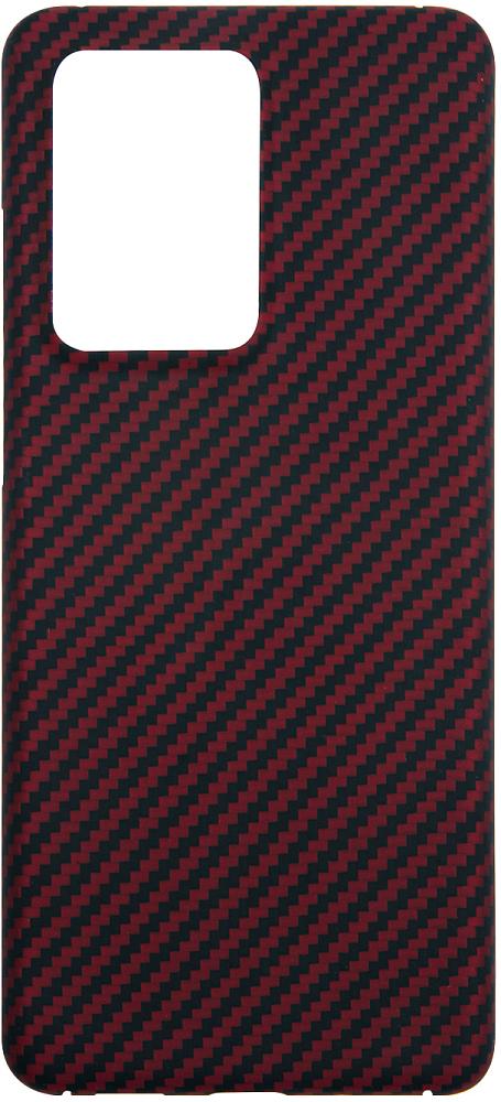 Картинка - для Galaxy S20 Ultra, карбон красный