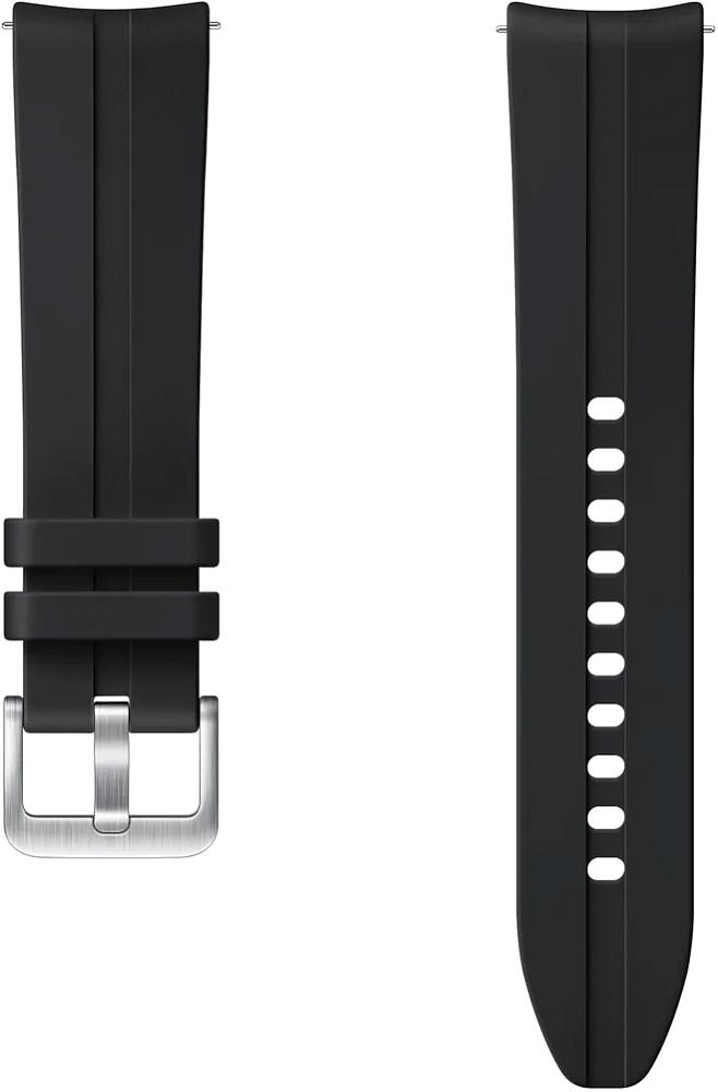 Картинка - Ridge Sport Band для Galaxy Watch3(41мм) | Watch(42мм) | Watch Active 2 | Watch Active черный