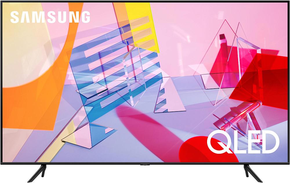 """Телевизор Samsung 75"""" серия 6 QLED Smart TV Q60T"""
