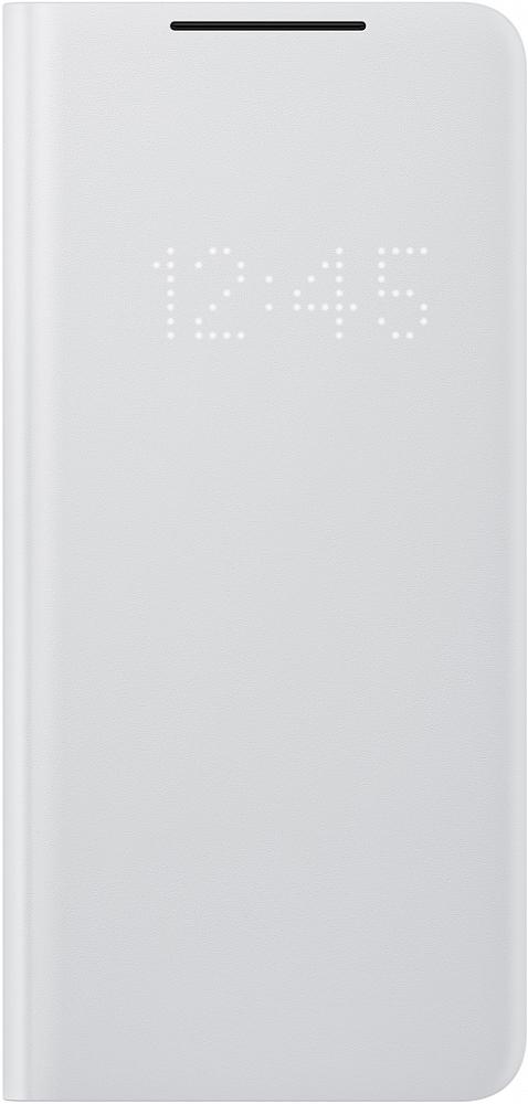 Картинка - Smart LED View Cover для Galaxy S21 Ultra серый
