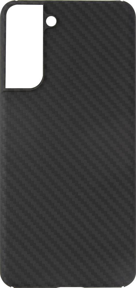 Чехол Barn&Hollis для Galaxy S21 карбон, серый