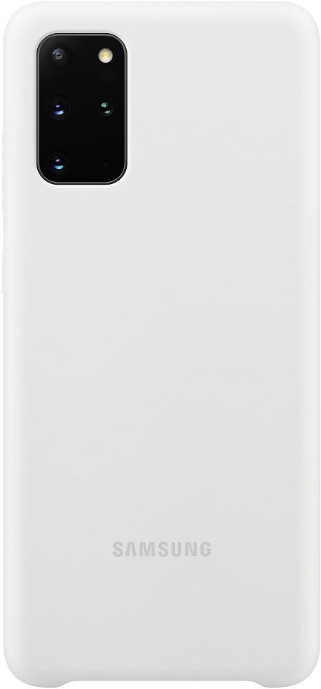 Картинка - Silicone Cover Galaxy S20+ белый