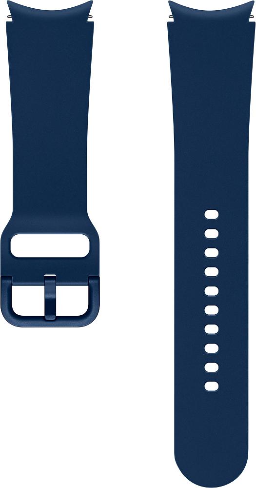 Ремешок Samsung Sport Band для Galaxy Watch4 | Watch3, 20 мм, S/M синий