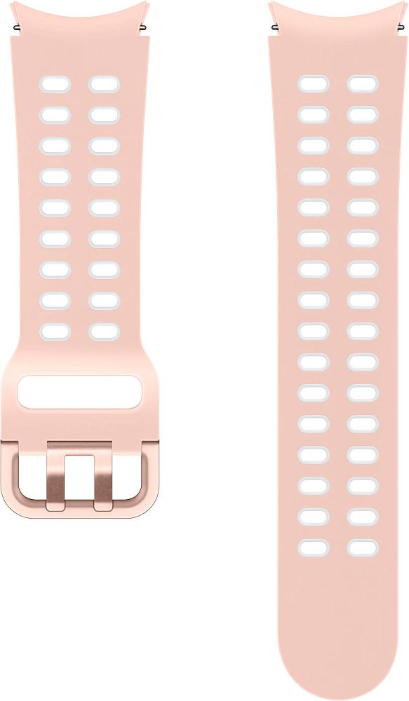 Ремешок Samsung Extreme Sport Band для Galaxy Watch4 | Watch3, 20 мм, S/M розовый