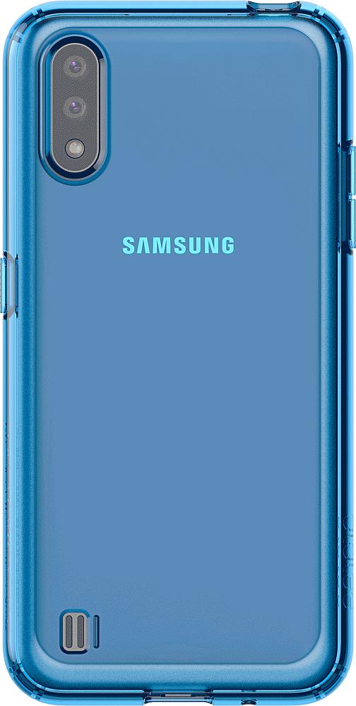 A Cover для Galaxy A01 синий