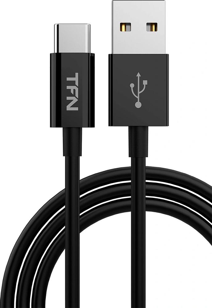Кабель TFN USB-A - USB-C 1.0, 1м черный