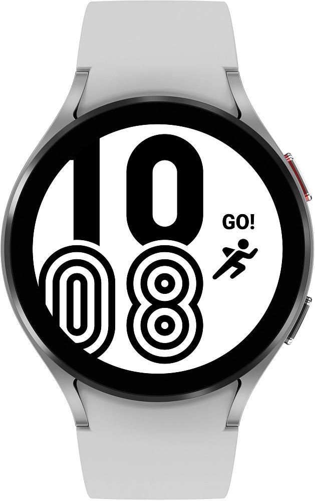 Носимое устройство Samsung Galaxy Watch4, 44 мм серебро