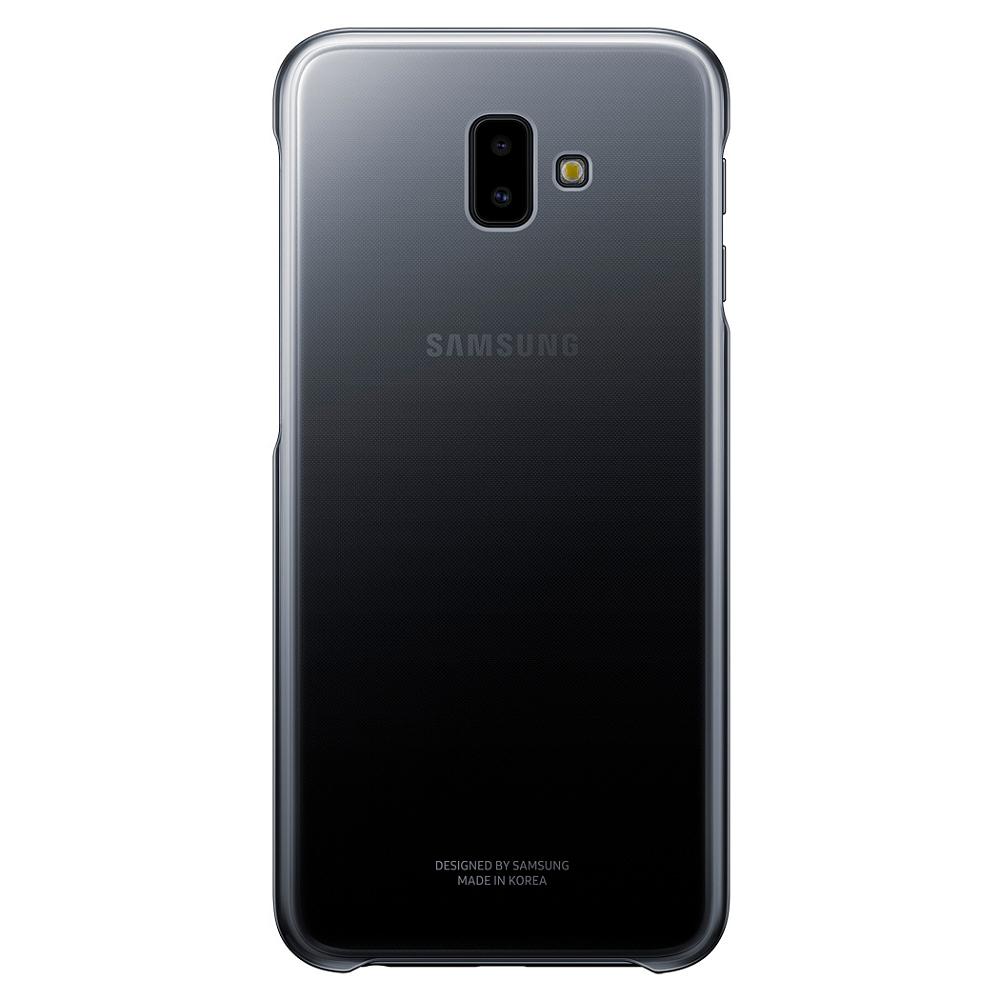 Gradation Cover Galaxy J6+ черный