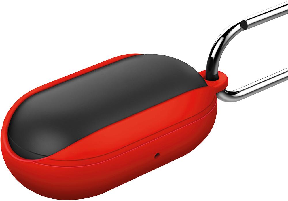 Чехол moonfish для Galaxy Buds   Buds+ красный