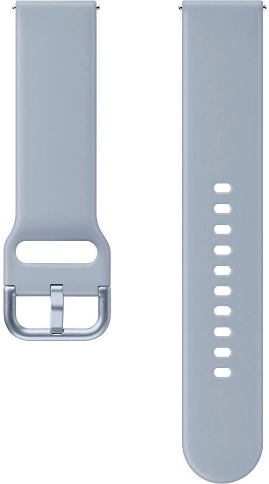 Ремешок Samsung Sport Band для Galaxy Watch3(41мм) | Watch(42мм) | Watch Active 2 | Watch Active серебристый