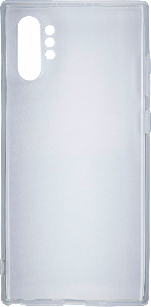 для Galaxy Note10+, силикон прозрачный