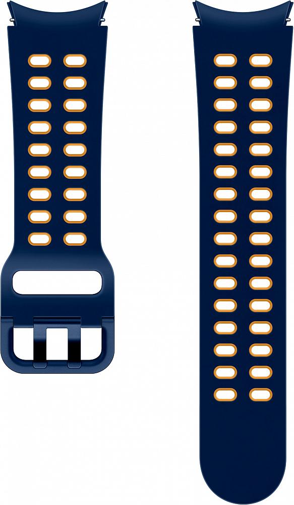 Ремешок Samsung Extreme Sport Band для Galaxy Watch4 | Watch3, 20 мм, S/M синий