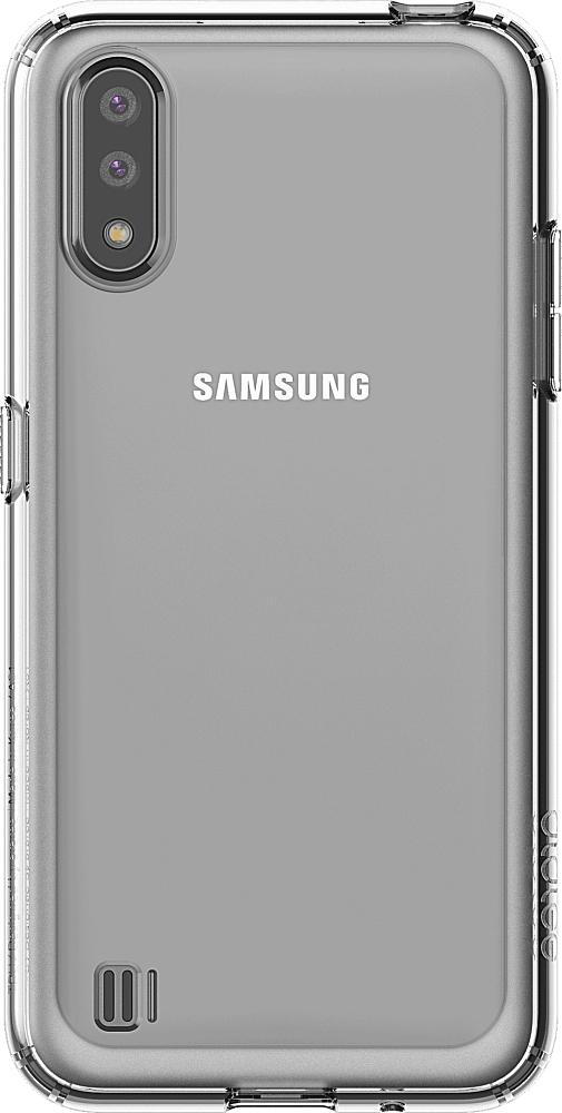 Чехол Araree A Cover для Galaxy A01 прозрачный
