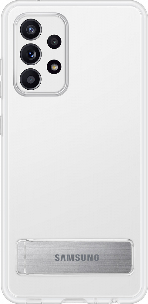 Картинка - Clear Standing Cover для Galaxy A52 прозрачный