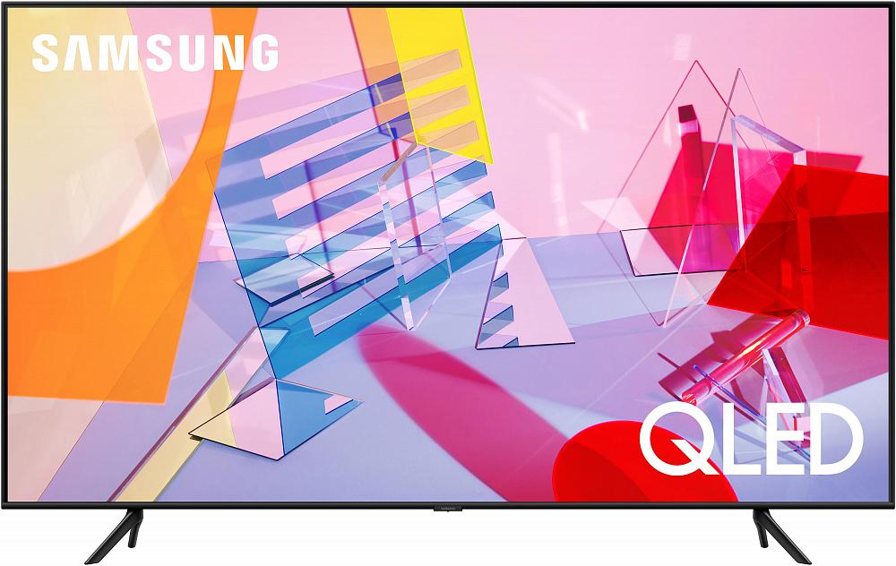 """Телевизор Samsung 85"""" серия 6 QLED Smart TV Q60T"""