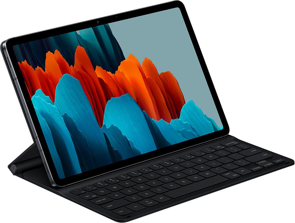 Чехол-клавиатура Samsung для Tab S7 черный