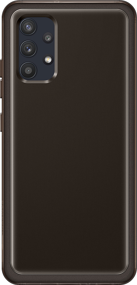 Чехол Samsung Soft Clear Cover для Galaxy A32 черный