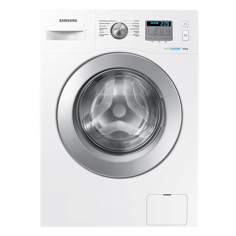 Стиральная машина Samsung WW60H2230EWDLP белый