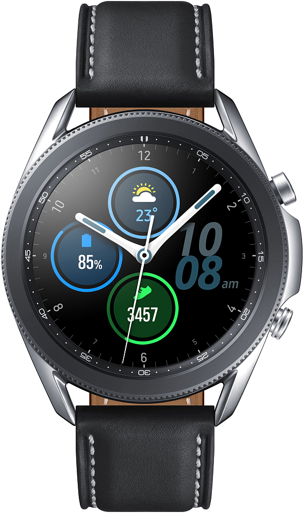 Носимое устройство Samsung Galaxy Watch3, 45 мм серебро