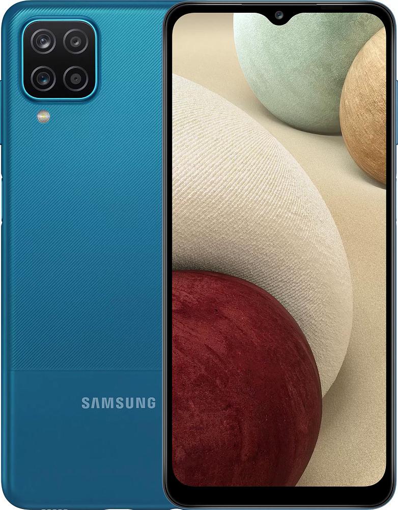Смартфон Samsung Galaxy A12 (Exynos) 64 ГБ синий