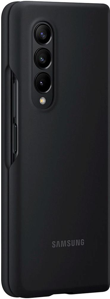 Чехол Samsung Silicone Cover для Galaxy Z Fold3 черный